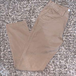 Express Skinny Fit Hayden Khaki Pants